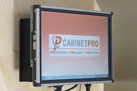 Custom panel PC from CabinetPro Ltd