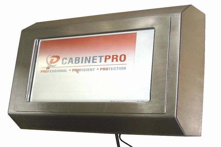 Rugged heavy duty ip65 stainless steel pc for shopfloor