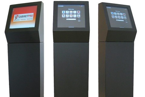 Rugged vandal resistant kiosk PC's