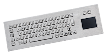 Stainless steel IP65 keyboards from CabinetPro Ltd