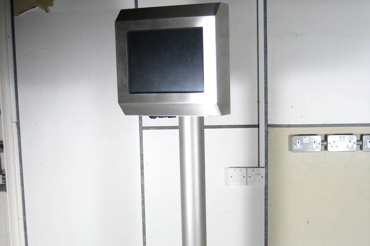 Stainless steel Pedestal Stand for IP65 PC