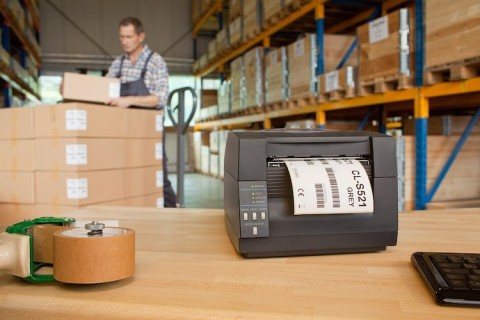 Industrial label printers for ERP warehose