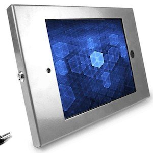 iPad tablet secure metal wall mount enclosure case