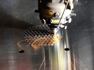 Intricate laser cutting facility
