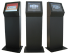Rugged vandal resistant kiosks